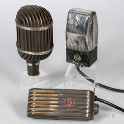 Three Ribbon Microphones
