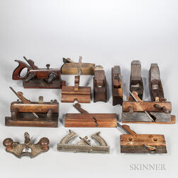 19th to 20th Century Woodworking Handplanes
