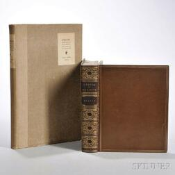 More, Thomas (1478-1535) Utopia  , Two Editions: 1808 and 1903.