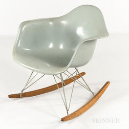 Ray and Charles Eames for Herman Miller Eiffel-base Rocking Chair