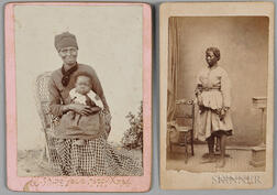 Two Photographs Depicting African American Women