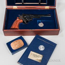 Smith & Wesson Model 25-3 125th Anniversary Double-action Revolver with Presentation Case