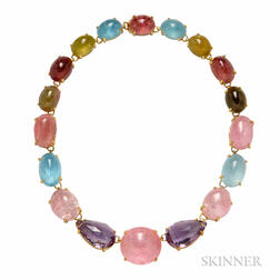 Gem-set Necklace