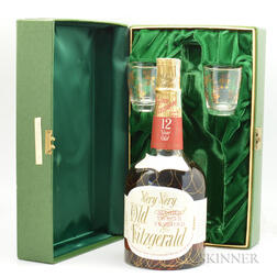 Very Very Old Fitzgerald 12 Years Old 1956, 1 4/5 quart bottle (pc)