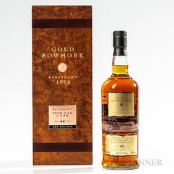 Gold Bowmore 44 Years Old 1964, 1 750ml bottle (pc)