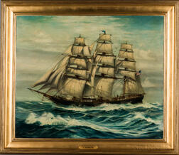 American School, 19th Century Style      Portrait of the Clipper Ship Formosa