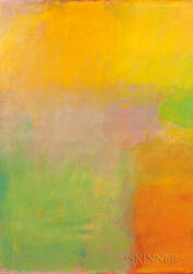 American School, 20th Century      Untitled (Color Field Abstract)