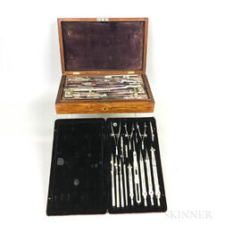 Two Cased Drafting Sets