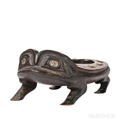 Northwest Coast Frog Bowl