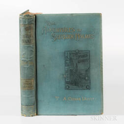 Doyle, Sir Arthur Conan (1859-1930) The Adventures of Sherlock Holmes  , First Edition.