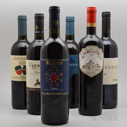 Mixed Tuscan Wines, 6 bottles