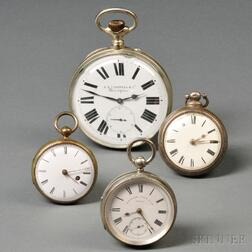 Group of Four Watches of Varying Periods and Designs