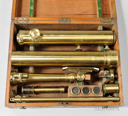 "Cary 3-inch ""Royal Geographical Society"" Portable Refractor Telescope"