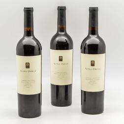 Alpha Omega Cabernet Sauvignon Beckstoffer To Kalon Vineyard 2009, 3 bottles