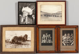 Five Framed Photographs