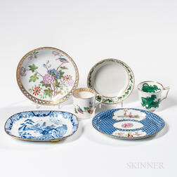 Six Assorted Wedgwood First Period Bone China Items