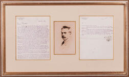 White, Stanford (1853-1906) Typed Letter Signed, 25 May 1896.