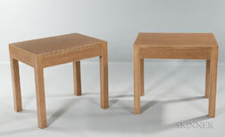 Pair of Minic Custom Woodwork Tables
