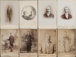 Fifteen Victorian Photographs Depicting African Americans.     Estimate $200-250