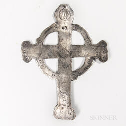 Northeast Silver Trade Cross