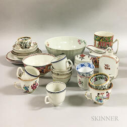 Group of Chinese Export Porcelain Tableware