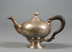 Early George III Silver Teapot