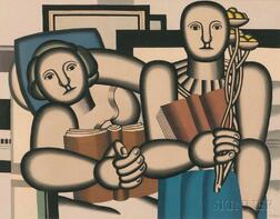 After Fernand Léger (French, 1881-1955)      La lecture