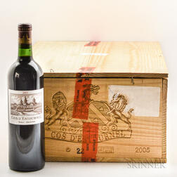 Chateau Cos dEstournel 2005, 11 bottles
