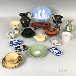 Nineteen Wedgwood Ceramic Items