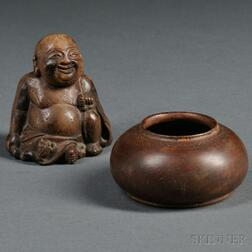 Two Carved Wood Items