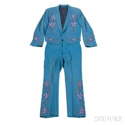 Little Jimmy Dickens     Teal Suit