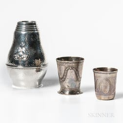Three Pieces of Continental Silver