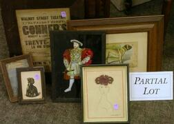 Group of Assorted Framed Items