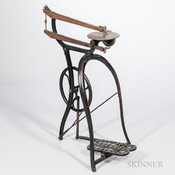 """New Roger's"" Cast Iron Treadle Scroll Saw"