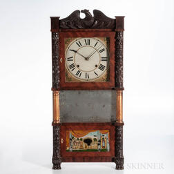 John Birge Triple-decker Shelf Clock