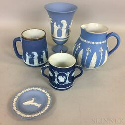 Five Pieces of Mostly Wedgwood Ceramic Tableware