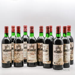 Chateau Leoville Las Cases 1977, 12 bottles