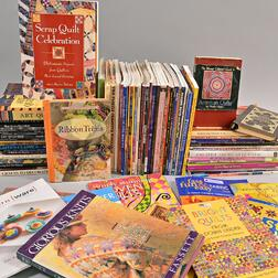 Large Group of Textile Reference Books