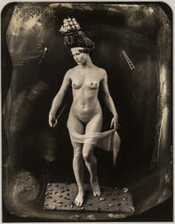 Joel-Peter Witkin (American, b. 1939)      Beauty Has Three Nipples, Berlin