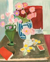 After Henri Matisse (French, 1869-1954)      Nature Morte