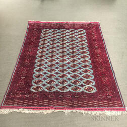 Silk Turkoman Carpet