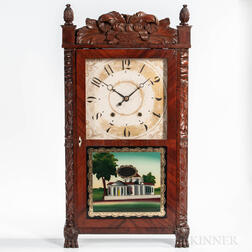 E. Terry & Son's Carved Shelf Clock
