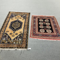 Two Turkish Rugs