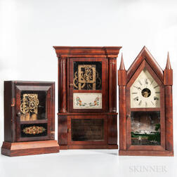 Three Connecticut Shelf Clocks