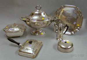Group of Silver Plated Items
