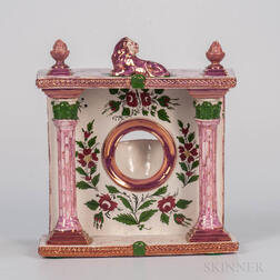 Sunderland Pink Splashed Lustre Watch Hutch