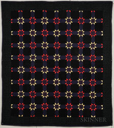 "Mennonite ""Variable Star"" Quilt"