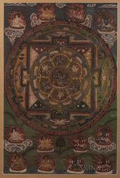 Thangka Depicting a Chakrasamvara Mandala