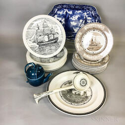 Twenty-four Pieces of Wedgwood Ceramic Tableware