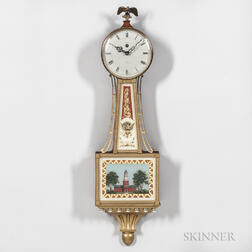Smiths Clock & Watch Co. Miniature Banjo Clock